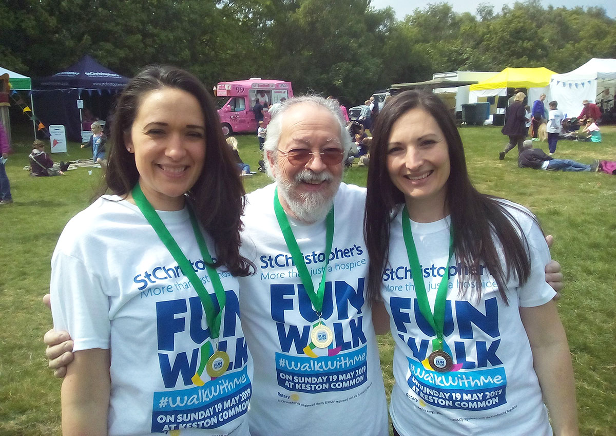 St Christopher's Hospice Fun Walk